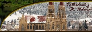 Travel to magnificent architectural gem the catholic church's cathedral in Helena, Montana.