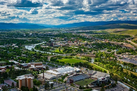 Missoula Montana Downtown