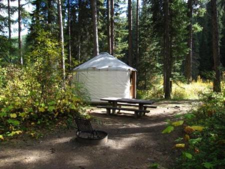 Whitetail Yurt