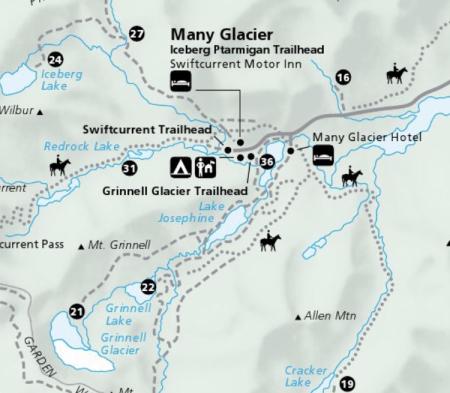 Many Glacier Trails