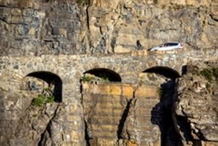 Triple arches Glacier