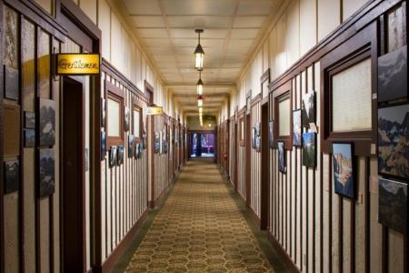 Many Glacier Hotel interior