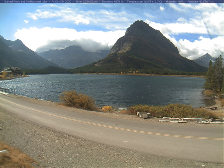 Glacier 2 Webcam MT