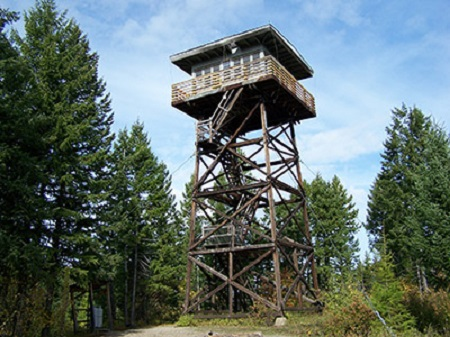 Lookout cabin MT