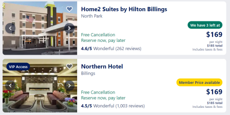 Billings hotels