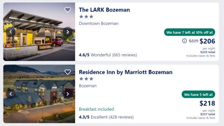 Bozeman hotels