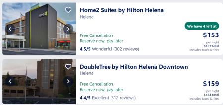 Helena hotels