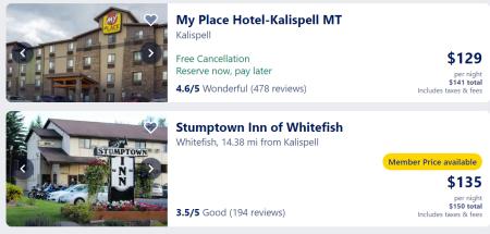 Kalispell hotels