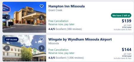 Missoula hotels
