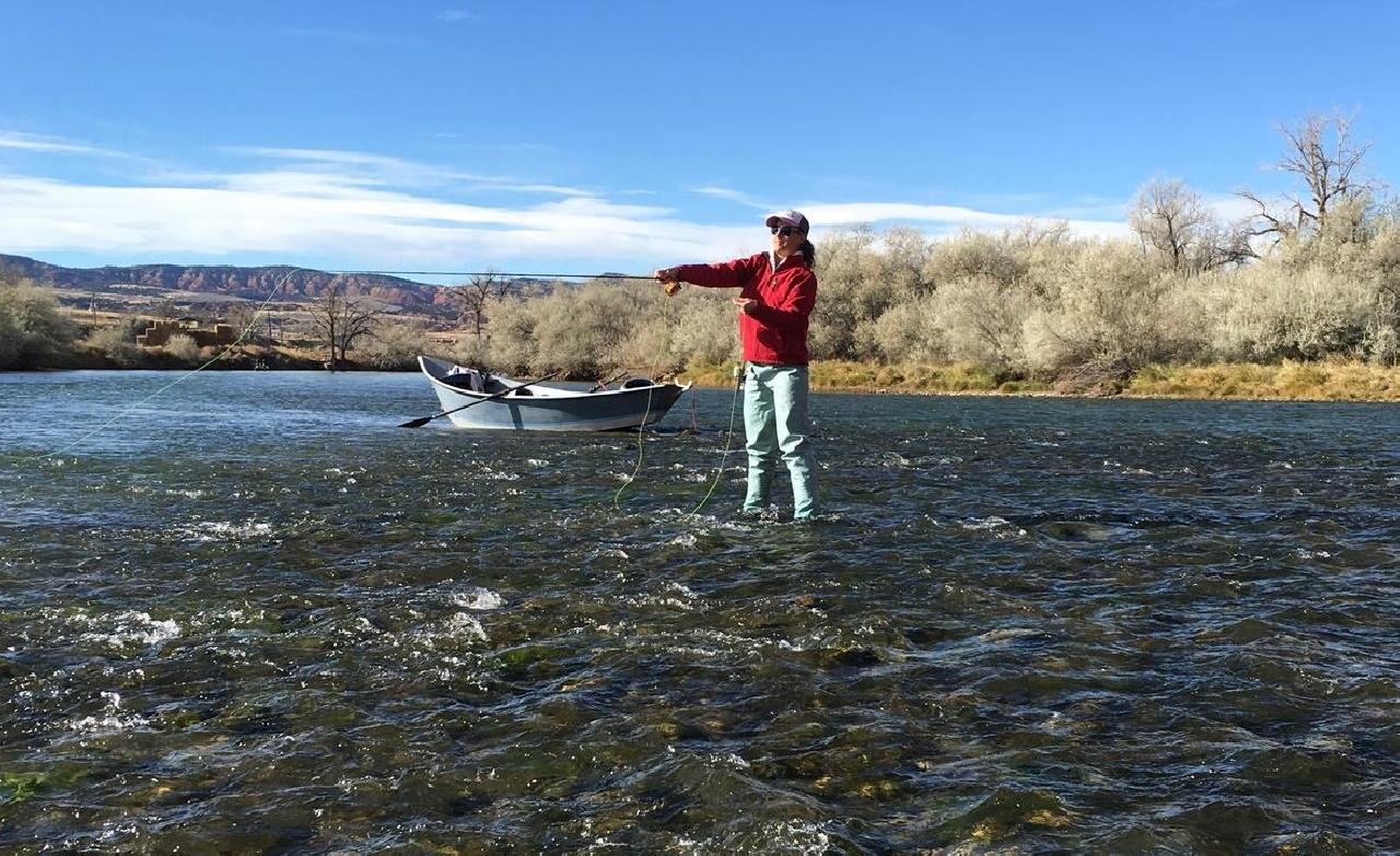 Fishing Bighorn River